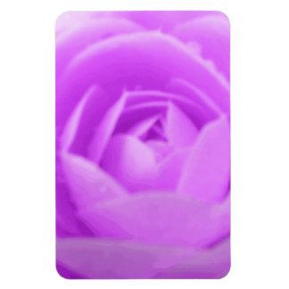 Camellia Purple Premium Magnet