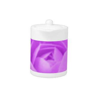 Camellia Purple Teapot