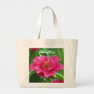 Camellia Totebag Large Tote Bag