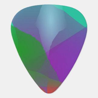 Camellia Translucent Green Guitar Pick