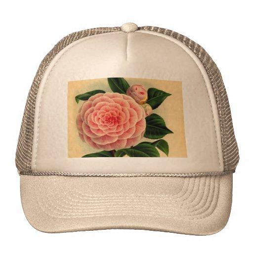 camellia trucker hats