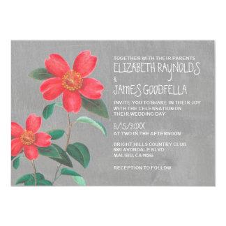 Camellia Wedding Invitations