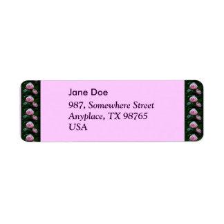 Camellias Label