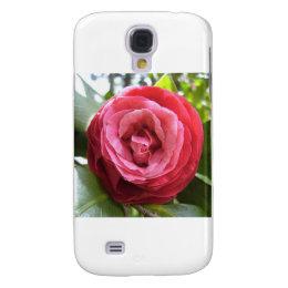 Camellia's Rose Galaxy S4 Case