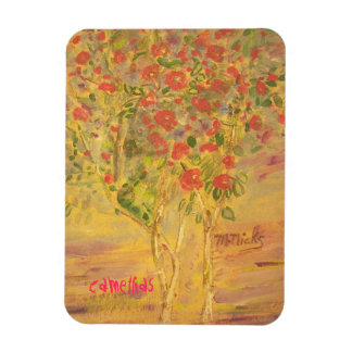 camellias sketch magnet
