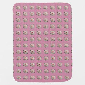 Camellias Stroller Blanket