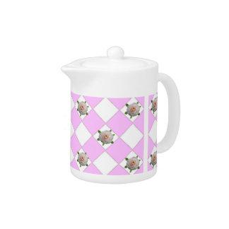 Camellias Teapot