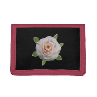 Camellias Trifold Wallets