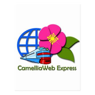 CamelliaWeb Express Postcard