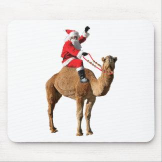 Camello 2013 y Santa del día de chepa del navidad Tapete De Ratón