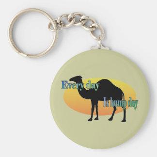 ¡Camello - cada día es día de chepa! Llaveros