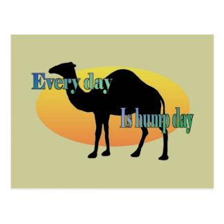 Camello - cada día es día de chepa postales