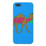 Camello con día de chepa en rosa y verde iPhone 5 cárcasa