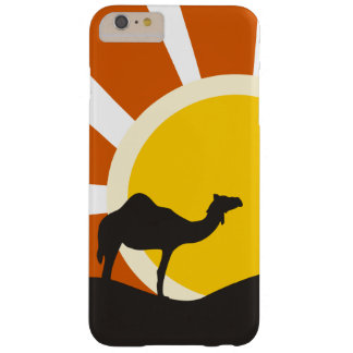 Camello con puesta del sol funda de iPhone 6 plus barely there