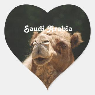 Camello de Arabia Saudita Colcomanias Corazon