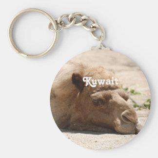 Camello de Kuwait Llavero Redondo Tipo Pin