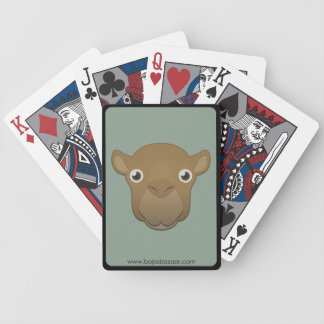 Camello de papel baraja de cartas