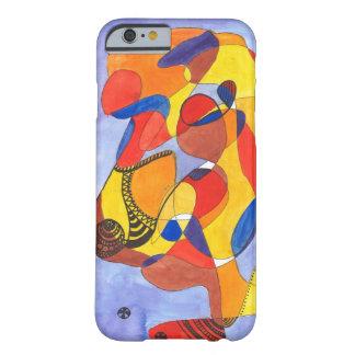 Camello del arte moderno funda de iPhone 6 barely there