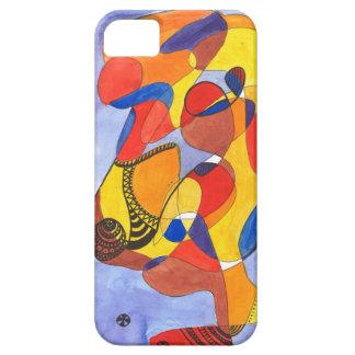 Camello del arte moderno iPhone 5 funda