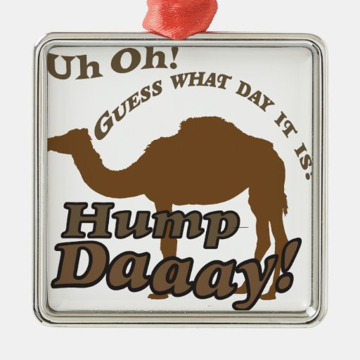 ¡Camello del día de chepa! Ornamento De Reyes Magos
