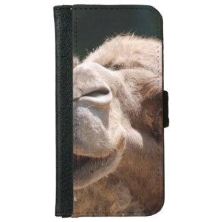Camello del día de chepa funda cartera para iPhone 6