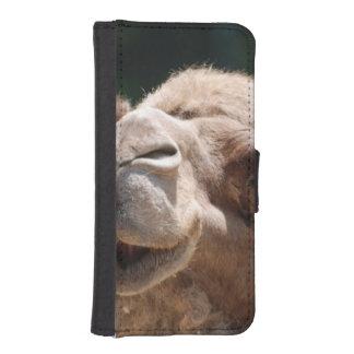 Camello del día de chepa fundas billetera de iPhone 5