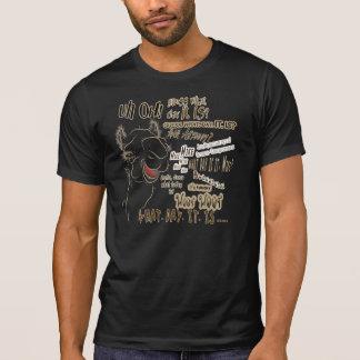 Camello del día de chepa camiseta