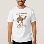 Camello del día de chepa playeras