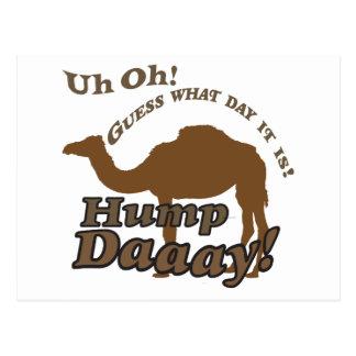 ¡Camello del día de chepa! Postales