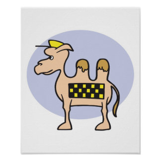camello del taxi póster