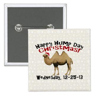 Camello divertido de miércoles de chepa del navida pin