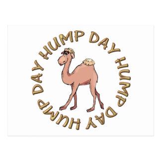 camello divertido del día de chepa postal