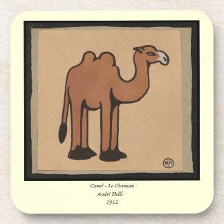 Camello - ejemplo de libro anticuario colorido posavaso