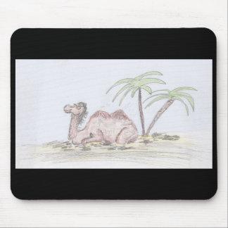 Camello feliz Mousepad