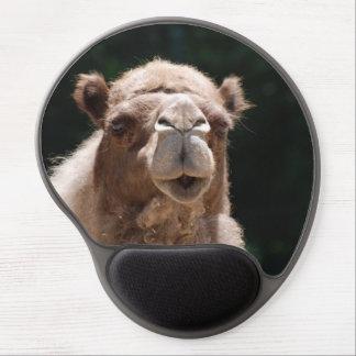 Camello intrépido alfombrillas de raton con gel