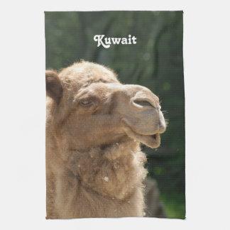 Camello kuwaití toallas de mano
