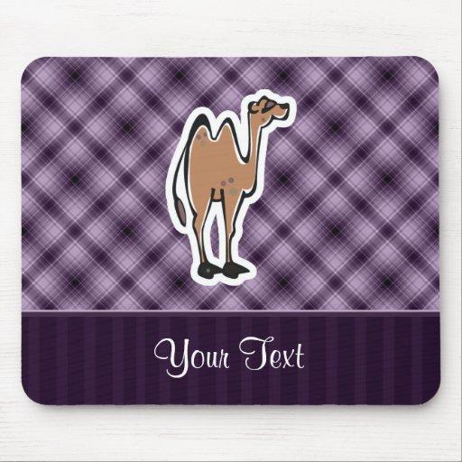 Camello lindo; Púrpura Alfombrilla De Raton