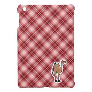 Camello lindo Tela escocesa roja iPad Mini Cobertura