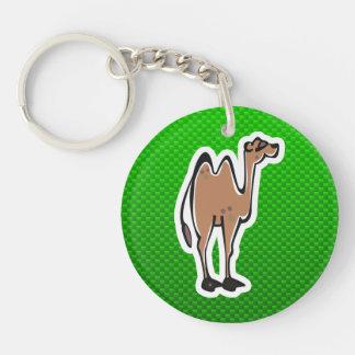 Camello lindo; Verde Llavero