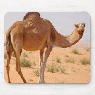 Camello para el cojín de ratón de los árabes tapete de raton