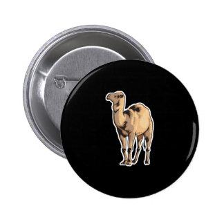 camello realista pin