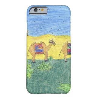 Camellos coloridos funda de iPhone 6 barely there