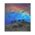 Camellos de la caravana del desierto blocs