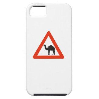 Camellos de la precaución, señal de tráfico, iPhone 5 carcasa