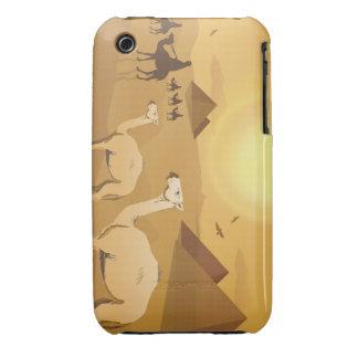 Camellos egipcios del desierto funda bareyly there para iPhone 3 de Case-Mate