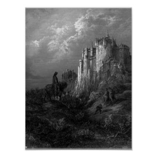 Camelot by Gustave Doré 1868 Poster