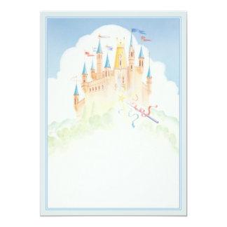 """Camelot © 5"""" x 7"""" invitation card"""