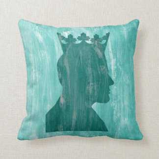 Camelot: King and Queen Throw Pillows