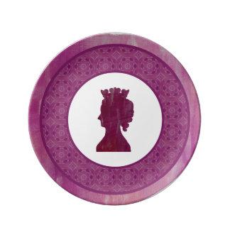 Camelot: Queen Dinner Plate