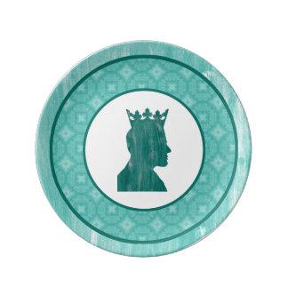 Camelot: Rey Plato De Cerámica